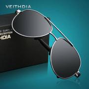 Polariserte Solbriller Med Etui