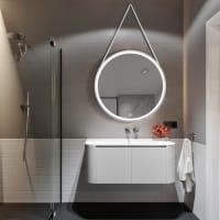 Speil Hjulfrid Sølv