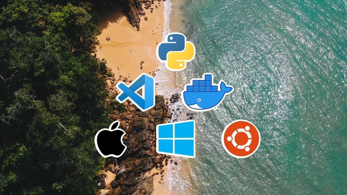 Visual Studio Code + Docker + Python using WSL in Windows on Boot Camp