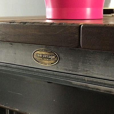 Steel Vintage desk