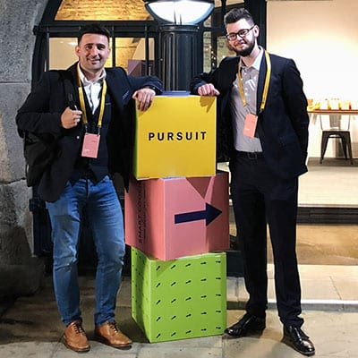 Looay & Joseph at Shopify Pursuit