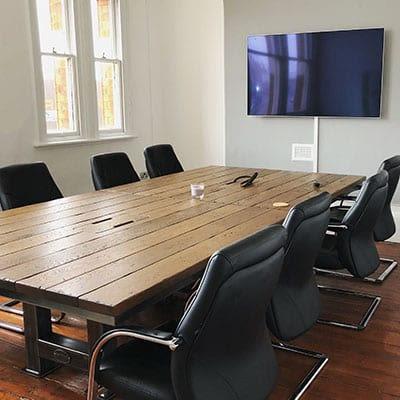 Kubix Media's boardroom