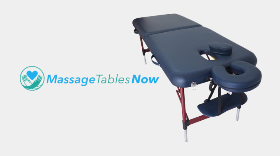 massage tables now banner