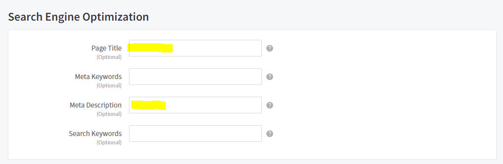 Bigcommerce | optimizing titles and descriptions for categories step-1
