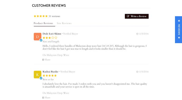 Kudobuzz review app for Shopify SEO