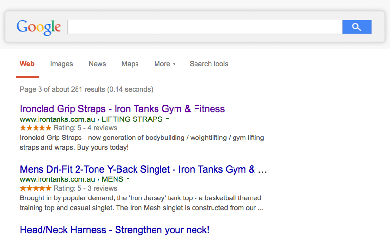 rich snippets product reviews