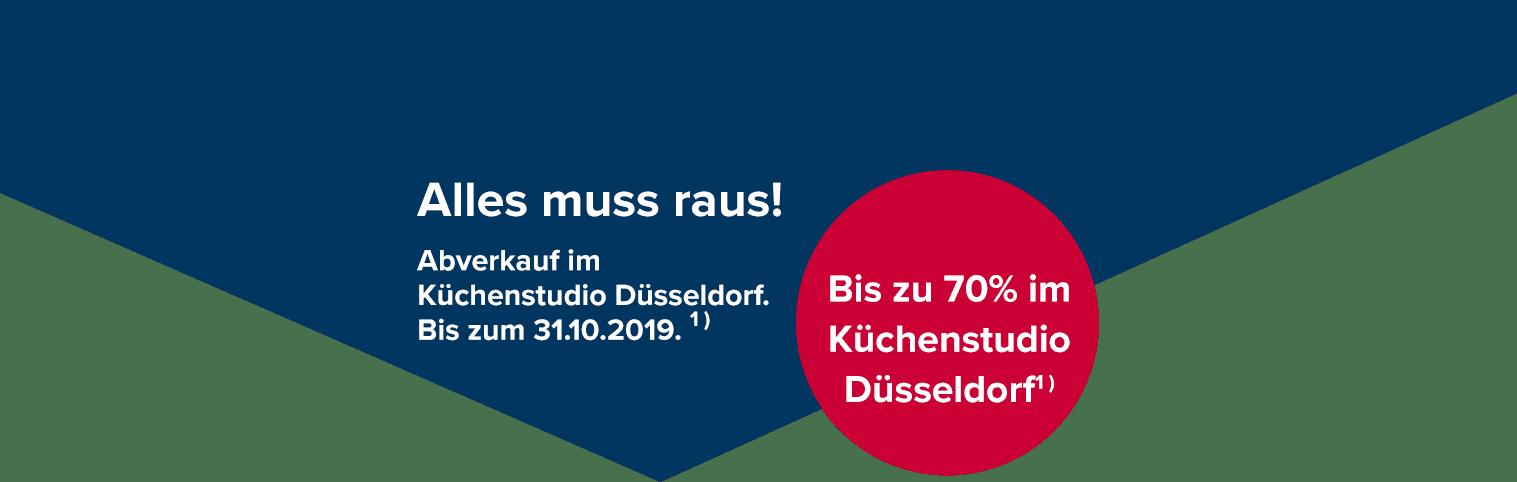 Bis zu 70% im Küchenstudio Düsseldorf!