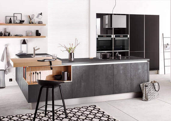 Kücheninsel frei planen: Vielfalt an Ideen, Schränken etc ...