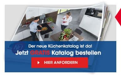 Traumküche noch nicht gefunden? Jetzt gratis Katalog bestellen!