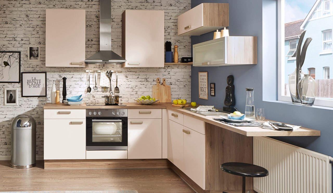 Pura80 einbauküche magnolienweiß