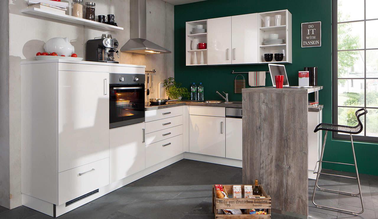 bavaria 1135 einbauküche weiß