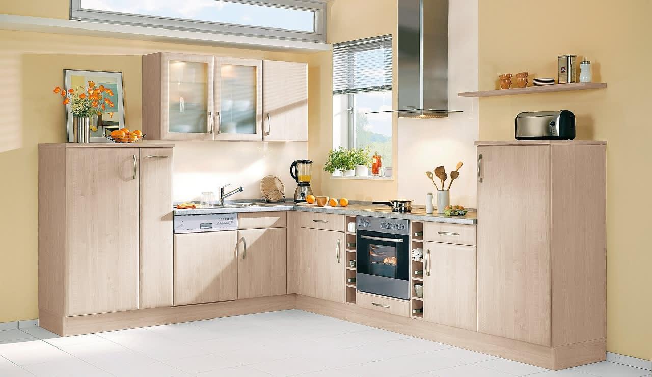 bavaria3310 einbauküche akazie