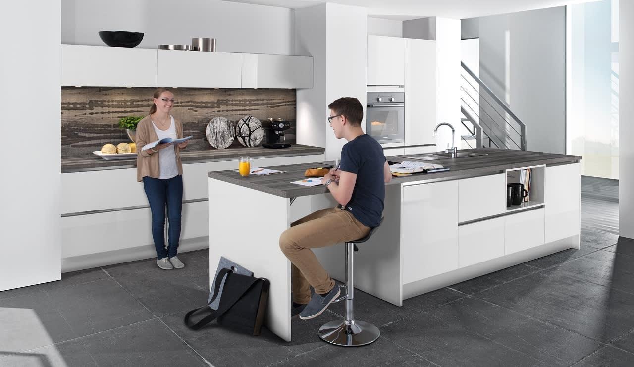 classica1230 einbauküche weiß hochglanz