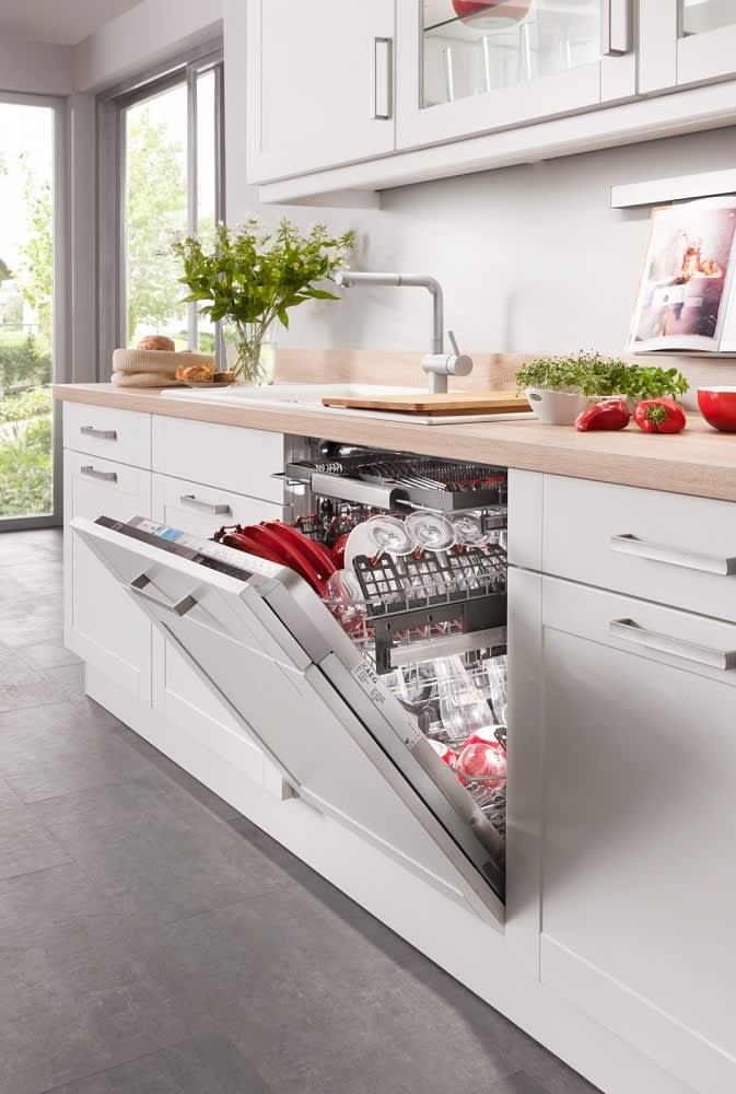 Geschirrspülmaschine Küche Weiß bavaria4323