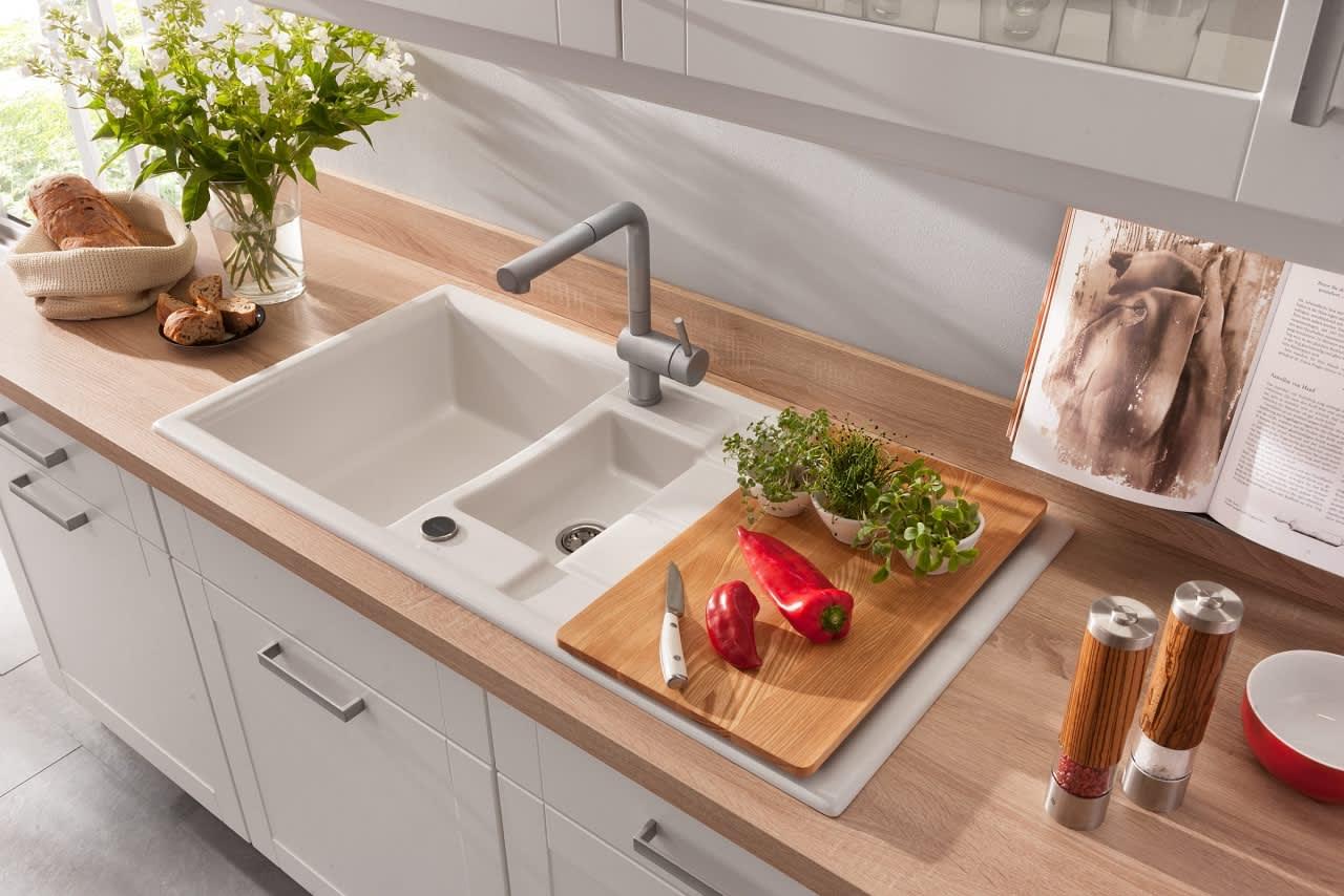 Spüle Küche Weiß bavaria4323
