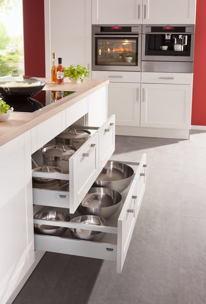 Unterschrank Küche Weiß bavaria4323