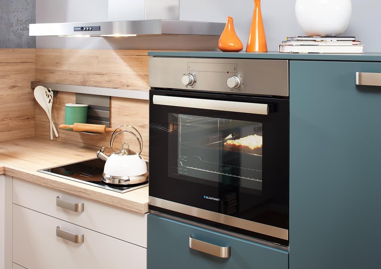 backofen classica0100 1240 einbauküche weiß aquamarin