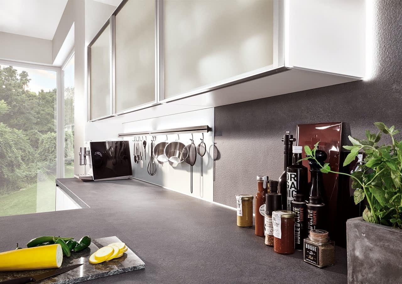 glashängeschrank norina4406 einbauküche weiß lack