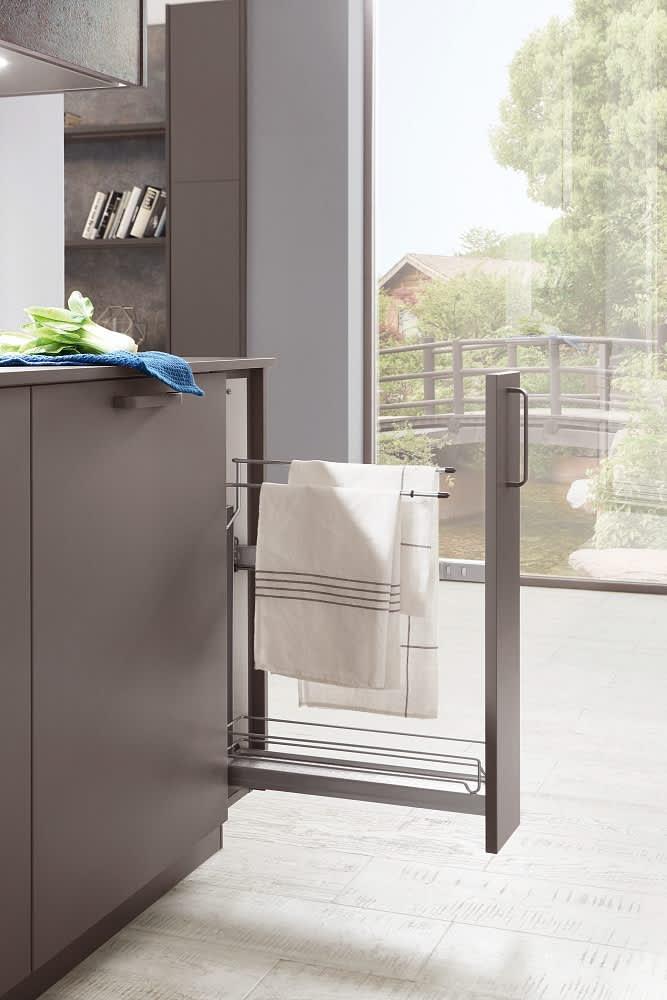 handtuchhalter norina3317 einbauküche schiefergrau