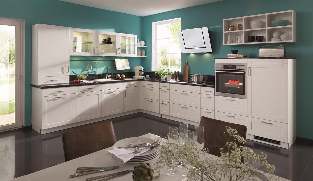 küche bavaria4323 weiß