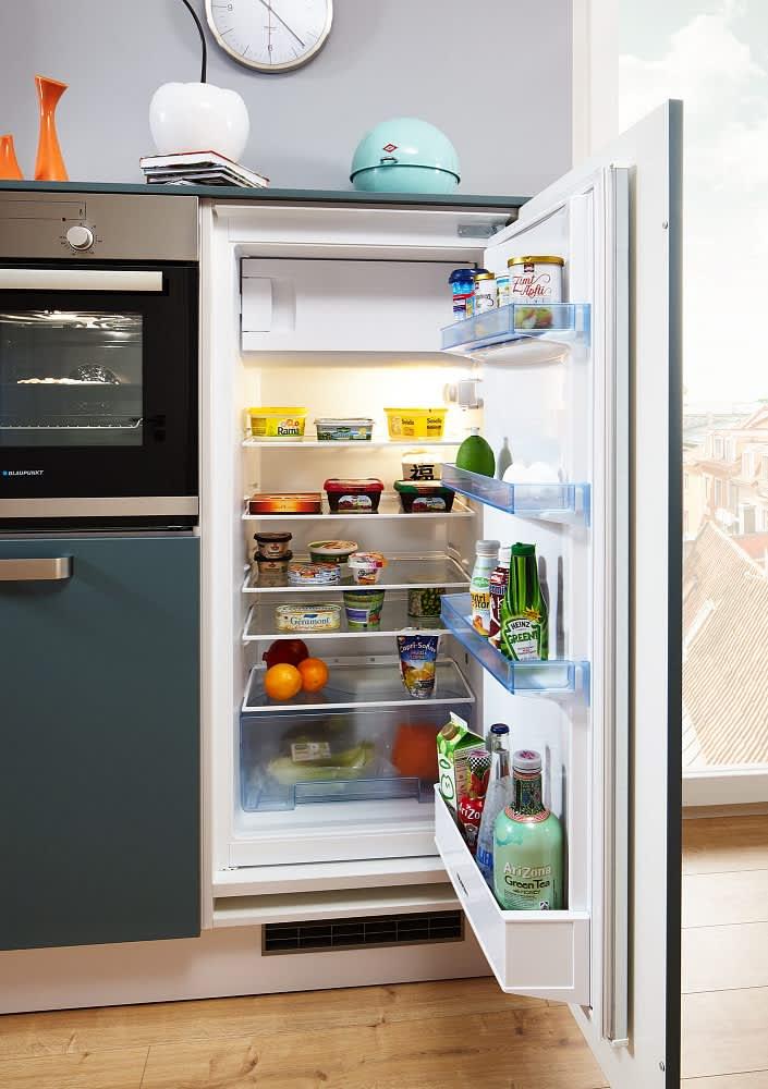 kühlschrank classica0100 1240 einbauküche weiß aquamarin