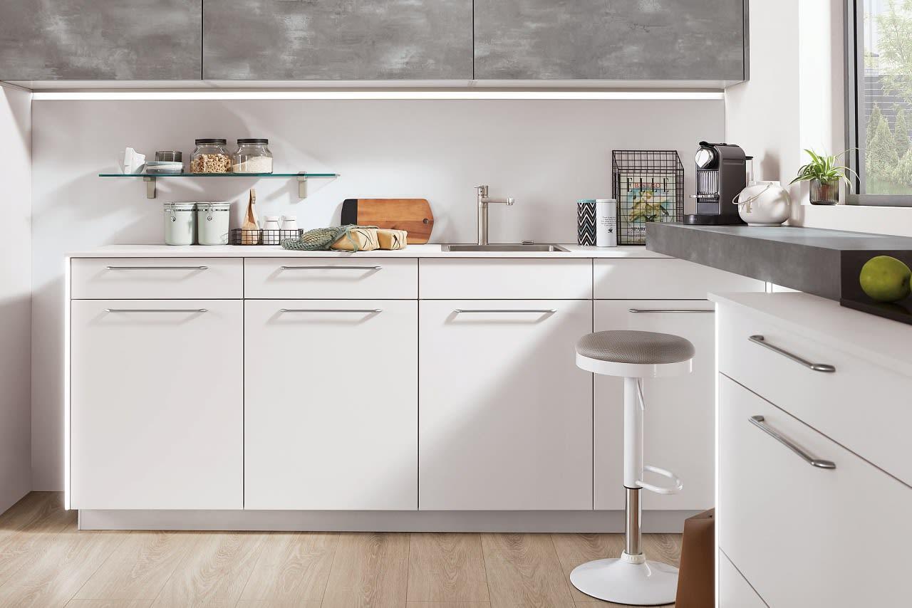 l küche norina4406 einbauküche seidengrau caledonia