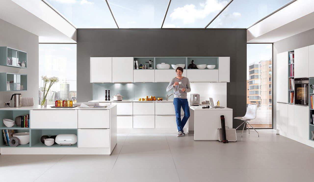 norina2615 einbauküche weiß blau