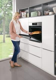 Backofen Küche Weiß Norina3317