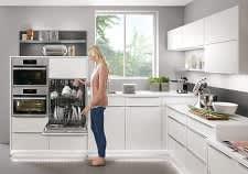 Geschirrspüler Küche Weiß Norina3317