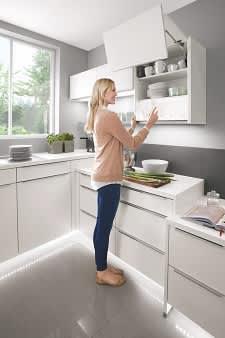 Hängeschrank Küche Weiß Norina3317
