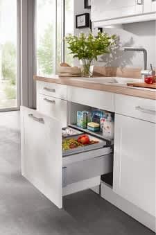 Mülltrennsystem Küche Weiß bavaria4323
