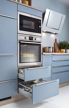 backofen einbauküche blau weiß bavaria1135