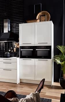 backofen systema5040 einbauküche weiß hochglanz lack