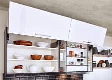 hängeregal classica1230 einbauküche polarweiß