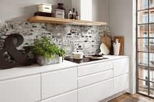kochfeld norina5526 einbauküche weiß lack grifflos