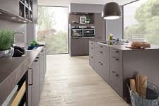 küchenblock norina3317 einbauküche schiefergrau