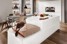 kücheninsel norina5526 einbauküche weiß lack grifflos