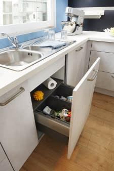 mülleimer classica1200 einbauküche beton grau