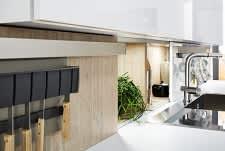 spüle classica4510 1210 einbauküche weiß eiche grau grifflos