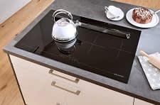 tischlüfter classica1230 1200 einbauküche creme grau hochglanz lack