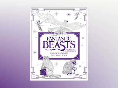 Fantastic beasts and where to find them: magical creatures colouring book av Harpercollins Publishers