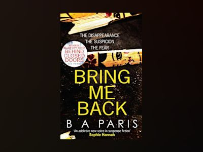 Bring Me Back av B. A. Paris