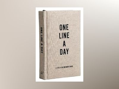 Canvas One Line a Day : A Five-Year Memory Book av Chronicle Books