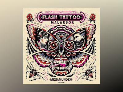 Flash Tattoo målarbok av Megamunden