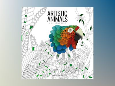 Artistic animals : a colouring book av Hejnum