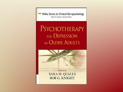 Psychotherapy for Depression in Older Adults av Sara H. Qualls