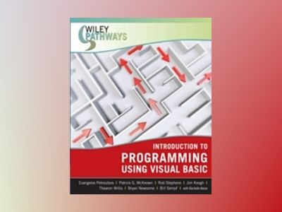 Wiley Pathways Introduction to Programming using Visual Basic, 1st Edition av Rachelle Reese