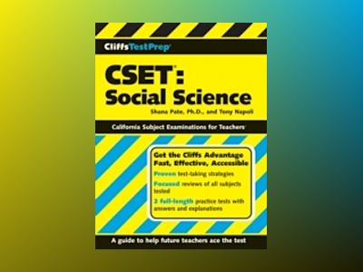 CliffsTestPrep CSET: Social Science av Shana Pate