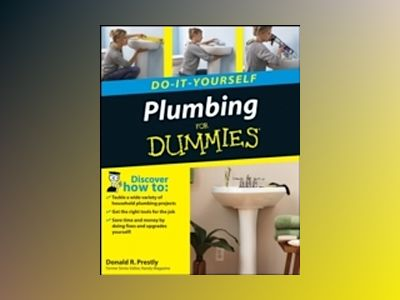 Plumbing Do-It-Yourself For Dummies av Donald R. Prestly