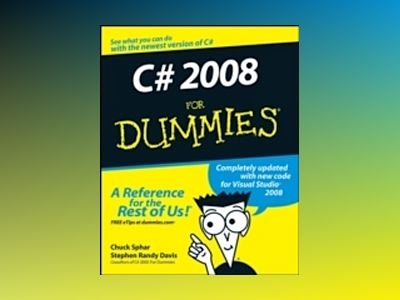 C# 2008 For Dummies av Stephen Randy Davis